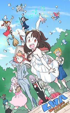 Your Anime Fix - ✨Wedding Ceremony [Little Witch Academia]. Manga Anime, Fanarts Anime, Anime Characters, Otaku Anime, Anime Witch, Lwa Anime, Character Concept, Character Design, Chibi