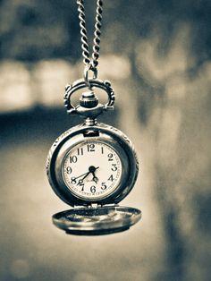clock, silver, time, vintage