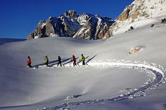 Let's snowshoeing before the next Christmas blowout! ;-) #insideveneto