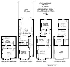 Another toilet placement option Kitchen Extension Floor Plan, Kitchen Extension Side Return, House Extension Design, Extension Ideas, London Townhouse, London Apartment, London House, Victorian Terrace Interior, Victorian Homes