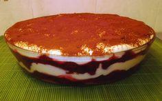Meggyes tiramisu recept fotóval Hungarian Recipes, Hungarian Food, Tiramisu, Something Sweet, Food And Drink, Baking, Rum, Ethnic Recipes, Cakes