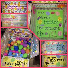 Easter care package :) can't wait to send it out!