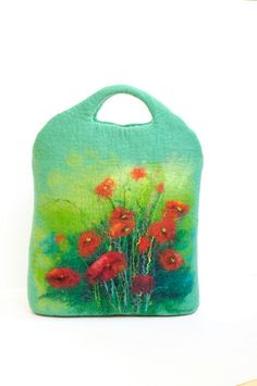 Felted bag OMG I WANT TO MAKE THIS
