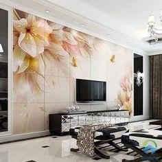 trang trí phòng khách bằng gạch ốp tường 3 Flat Screen, Home Decor, Blood Plasma, Decoration Home, Room Decor, Flatscreen, Home Interior Design, Dish Display, Home Decoration