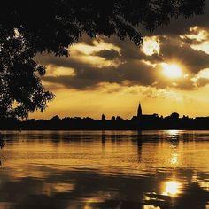Un coucher de soleil pour terminer ce mercredi... il y en a de très, très beaux…