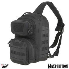 The EDGEPEAK™ sling pack from the Maxpedition AGR™ line is ambidextrous for both left-handed and right-handed users. www.Maxpedition.com