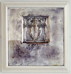 Charles Rennie Mackintosh (1868-1928). Beaten metal panel 1899. Image © The Hunterian Museum and Art Gallery, University of Glasgow 2015