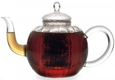 This fabulous glass Celeste teapot from BonJour is made of handblown Parisian-inspired glass and includes a glass infuser. For thousands of years, people from all over the world have enjoyed the restorative powers of tea. Steeping a pot of fresh tea is a treat for the senses--experience the re-hydration of delicate blossoms, the aroma of fragrant herbs and the taste of a perfect pot of tea.
