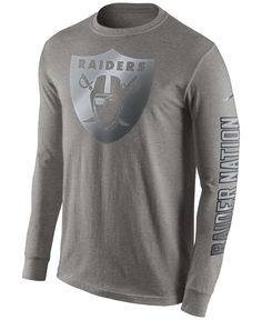 Men's Denver Broncos Nike Gray Reflective Pack Long Sleeve T-Shirt Denver Broncos, Nfl Broncos, Raiders Shirt, Raiders Stuff, Grey Long Sleeve Shirt, Nike Swoosh Logo, Football Outfits, Spirit Wear, Tampa Bay Buccaneers