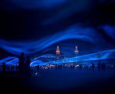 Waterlicht Installation par Daan Roosegaarde - Journal du Design