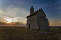 church of St Michael from the beginning of the 12th century, in Nitra, Slovakia.