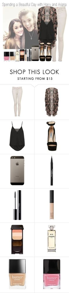 """""""Day with Hariana & ABC Quiz About Me"""" by elise-22 ❤ liked on Polyvore featuring Topshop, By Malene Birger, Prada, Trish McEvoy, shu uemura, NARS Cosmetics, Shiseido, Chanel and Butter London"""
