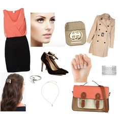 """Trabajo ""oficina"""" by beleenchuz on Polyvore"