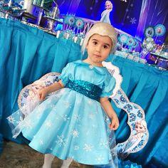 Frozen party costume