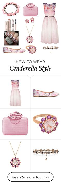 """♥"" by sarahmilad on Polyvore featuring Little Mistress, H&M, Fresh, Maybelline, NARS Cosmetics, Nancy Gonzalez, Accessorize, Allurez and Carolee"