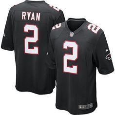 59c1128b5 Cheap Nike Game Youth Matt Ryan Black Alternate Jersey  NFL  2 Atlanta  Falcons Bills Tyrod Taylor 5 jersey