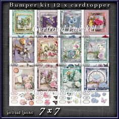 Bumperkit So many Flowers 1282 : The Designer Twins ...where creativity encounters quality and value