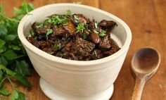 Maggie Beer's Beef Stew with Olives and Orange