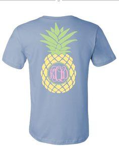 Pineapple Monogram Tshirt