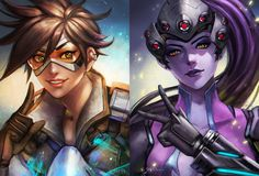 overwatch duo by manusia-no-31 on DeviantArt