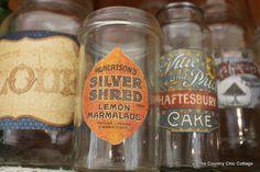 DIY vintage bottle labels. ~ Mod Podge Rocks!
