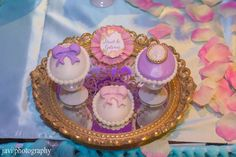 Sweets at a garden birthday party! See more party planning ideas at CatchMyParty.com!