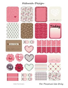 Free Lovestruck Planner Stickers