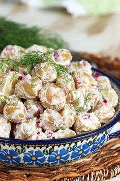 Packed with flavor this low-calorie Goat Cheese Dill Potato Salad is the perfect addition to any picnic or potluck! Goat Recipes, Side Recipes, Salad Recipes, Vegetarian Recipes, Potluck Recipes, Pasta Recipes, Dill Potatoes, Yellow Potatoes, Yukon Gold Potatoes