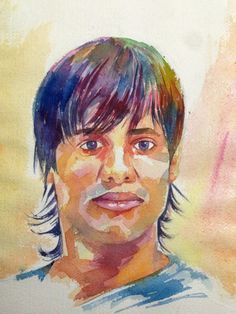 Portrait by - Raju kale ( self portrait )