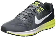 53ab59f6e1fa3 Nike Men s Air Zoom Structure 21 Cool Grey White Anthracite  (Cool Grey White Grey) Running Shoe 8 Men US
