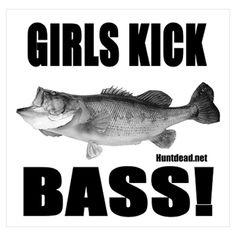 Girls fish too!