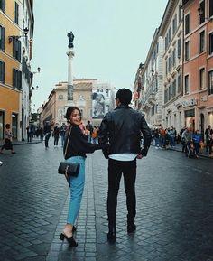 KathNiel in Rome Daniel Padilla, Kathryn Bernardo Outfits, Kathryn Bernardo Photoshoot, Daniel Johns, Filipina Beauty, Jadine, Instagram Pose, Couple Relationship, Cute Couples Goals
