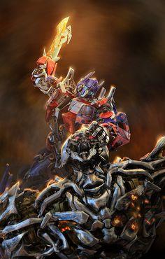 Optimus Prime & Megatron