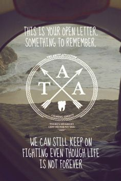 The Amity Affliction - Open Letter More