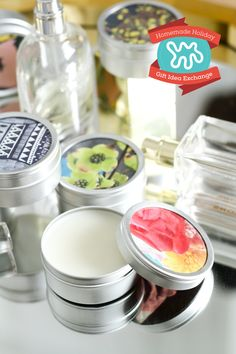 Learn how to make solid perfume as a homemade holiday gift for your all your friends!