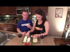 Super Simple Snack Series Part 2   Marinara Rice Cake Snack   Jon and Julieanna 1080