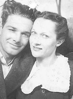 "Elizabeth Ham and husband ""Hunky"""