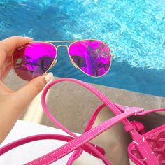 gold-and-purple-ray-ban-aviators