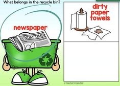 Earth Day Activities BOOM CARDS Digital RECYCLING SORT by Teacher Features Earth Day Activities, Recycling Bins, Elementary Teacher, Task Cards, Sorting, Spring Break, Fun Stuff, Teaching, Digital
