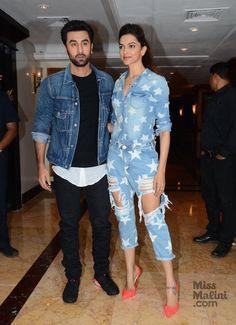 Ranbir Kapoor and Deepika Padukone Bollywood Images, Bollywood Couples, Bollywood Girls, Bollywood Actors, Bollywood Celebrities, Deepika Ranveer, Deepika Padukone Style, Ranbir Kapoor, Deepika Hairstyles