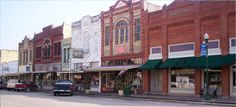 Small Towns in Texas