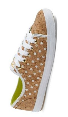 Keds made from cork.