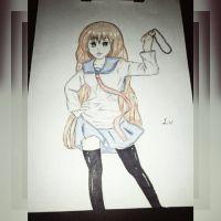 My original character yumi  by sofiavalvi
