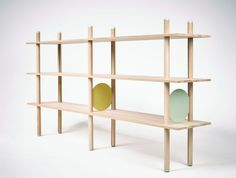 Babel Shelf by Kristian Knobloch exhibited at Salone Satellite 2015