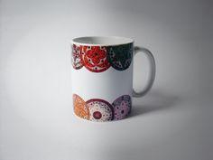 Caneca de Mandala . Quer uma? Compras pelo site www.mandalasdecristais.com.br