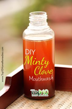DIY Minty Clove #Mouthwash