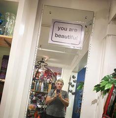 Oh hey. Thanks mirror.