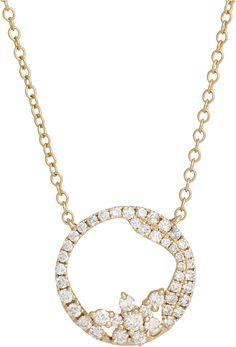 Dazzling diamonds 14k pendant featuring 12ctw diamonds diamonds mozeypictures Images
