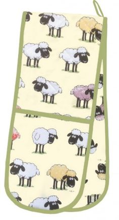 Sheepish Cotton Double Oven Gloves
