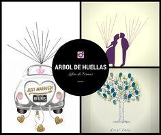 Imprimible Arbol de Huellas